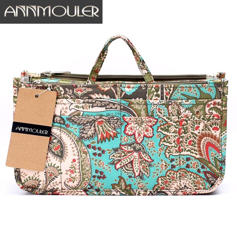 Annmouler Handbags Toiletry-Bag Makeup-Bag Necessarie-Organizer Travel Beauty Waterproof
