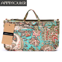 Annmouler Makeup Bag Necessarie Organizer 10 Colors Trip Beauty Women Travel Handbags Toiletry Bag Waterproof Make