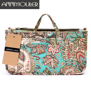 Annmouler Makeup Bag Necessarie Organizer 10 Colors Trip Beauty Women Travel Handbags Toiletry Bag Waterproof Make Up Pouch(China)