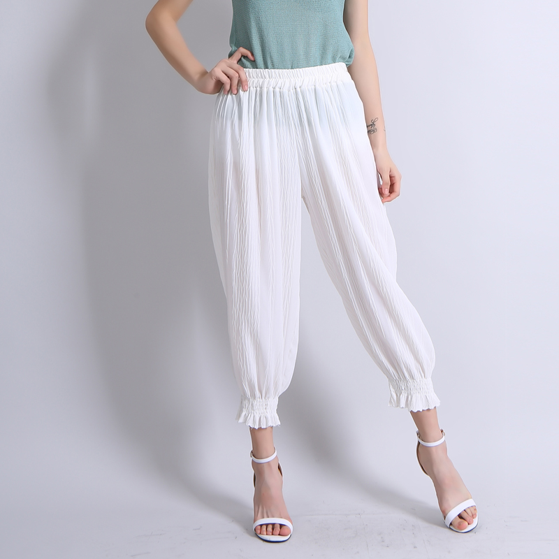 White Cropped Pants Promotion-Shop for Promotional White Cropped ...