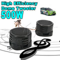 1pair Universal High Efficiency Mini Dome Tweeter Loudspeaker 2x 500W Loud Speaker Super Power Audio Sound Klaxon Tone For Car