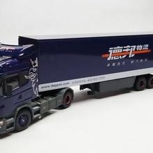 Коллекционная модель из сплава 1:50 Масштаб Scania R480 Highline контейнеровоз трактор литая игрушка модель для украшения, подарок
