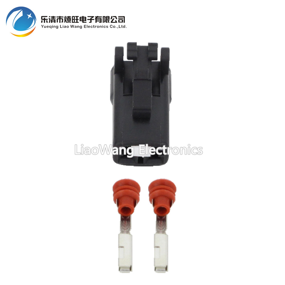 10Sets 2 Pin Female And Male Auto Waterproof Electrical Wiring Harness  Connector Fuse Box With Terminals DJ70219Y 2.2 11/21 2P-in Connectors from  Lights ...