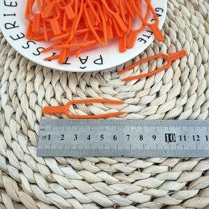 Image 5 - Clips pour plantes de jardin en plastique, outil de jardinage, Clips pour treillis, ficelle, serre, vignes à grouper, 50 pièces