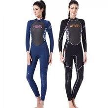 Wetsuit Women Full 3mm Neoprene Surfing Suit Diving Snorkeling Swimming  Jumpsuit One-piece Wet Suit 972d03460