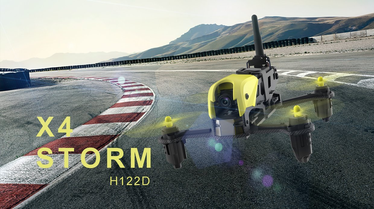Hubsan Mini H122D X4 Storm RC Helicopter 5.8G FPV Micro Racing Drone with HD 720P RC Quadcopter RTF original hubsan h122d x4 storm spare parts h122d 18 video goggles hv002 for hubsan h122d x4 rc racing drone quadcopter
