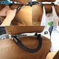 1 PC Multifuncional Assento de Carro de volta Gancho Ganchos Anti-queda corda Puxar Carga Trunk Bag Gancho Titular Hanger Preto Auto Fastener clipe