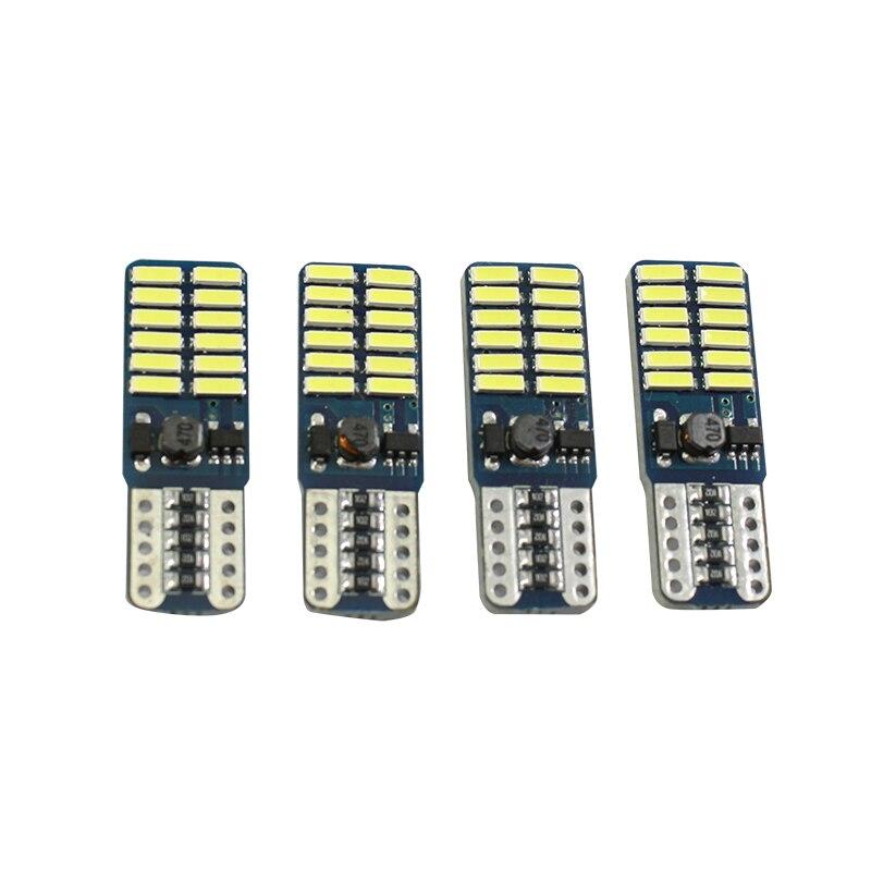 2 τεμάχια Αυτοκίνητο LED T10 194 W5W Canbus 24 SMD - Φώτα αυτοκινήτων - Φωτογραφία 4