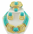 african bead jewelry set fine jewelry sets  wedding jewelry sets  african 24k gold jewelry women necklace