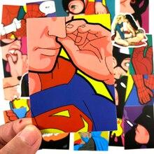 Pvc Stickers Super Hero Adult 25PCS