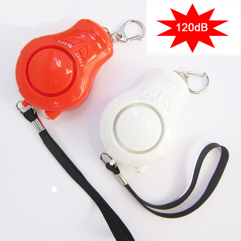 KoliLova 2pcs Women Personal Alarm Portable Guard Safety Security Alarm 120dB Self-protection Alarm