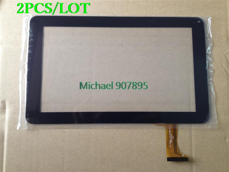 2pcS 9inch Tablet Touch Screen ID: DH-0926A1-PG-Fpc080-V3.0 Offside Write Screen New FX-C9.0-0068A-F-02