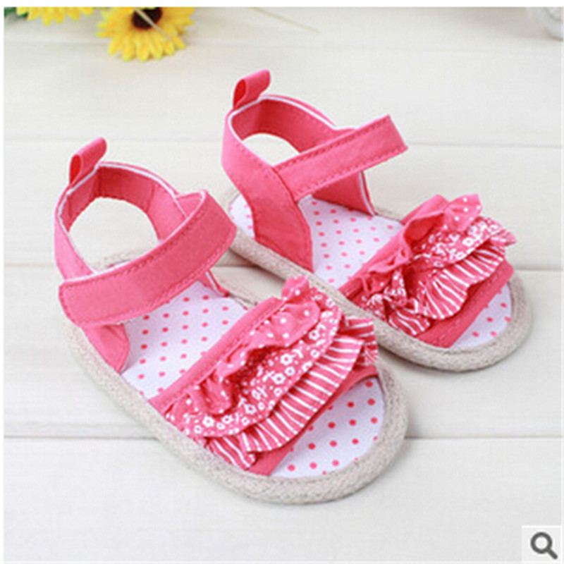 f2c298462 NOVO sapatos da menina do bebê bonito do laço da flor bowknot princesa  shoses moda cores doces sapatos macios sole anti-slip