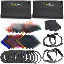 39 in1 24 Filtros de Color + 4 Cajas + 9 anillo adaptador + titular + cuadrado parasol para cokin p + el envío libre + número de seguimiento libre número