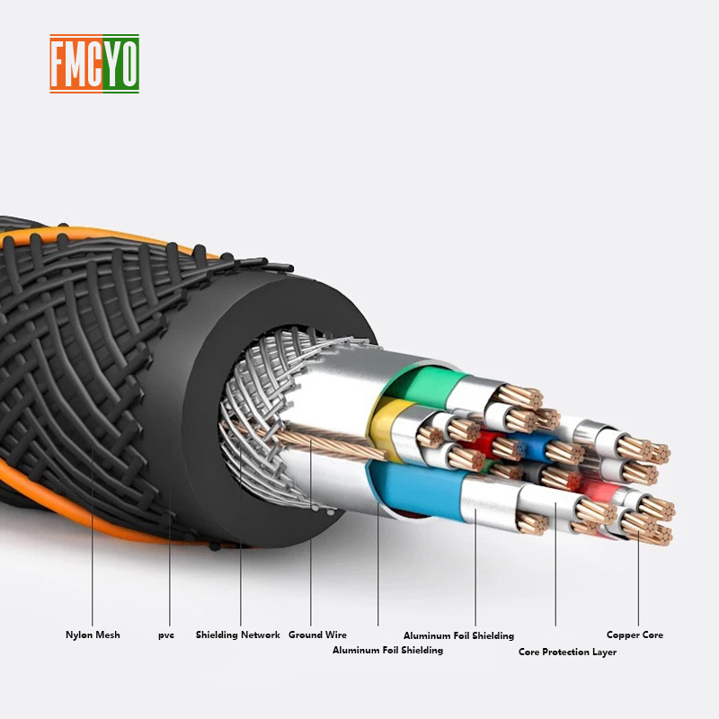 Gold plated 2 0 HDMI Cable 4K 3D Cable for HDTV splitter switcher 1m 1 5m 2m 3m in HDMI Cables from Consumer Electronics