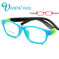 IVSTA Kids Glasses for Children Glasses for Girls Glasses Kids Removable Silicone Rubber Sleeve Custom Prescription Lenses 8815