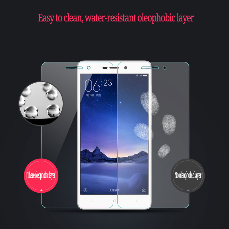 Xiaomi Redmi 3 Screen Protector 5 0 inch Anti Explosion Tempered Glass For Xiaomi Redmi 3 3S 3 Pro Tempered film in Phone Screen Protectors from Cellphones Telecommunications