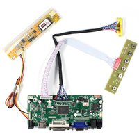 HDMI VGA DVI Audio B154PW02 LCD Controller Board For Lcd Panel DIY LCD Monitor