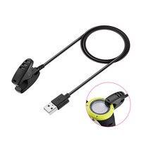 Zwart Vervanging Charging Cradle Dock Clip Charger Kabel Voor SUNNTO Smartwatch