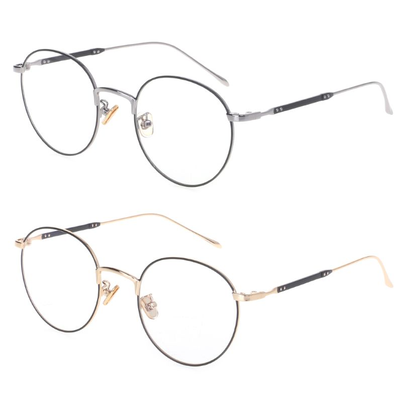 2019 Klassische Optische Gläser Mode Metall Rahmen Für Myopie Objektiv Transparent Brillen Klar Vintage Polygon Spektakel Dekoration