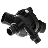 Engine Coolant Water Outlet Thermostat with Housing Assembly For BMW E60 E60 E83 E85 E90 E91 X3 Z4 11537549476 11537544788 Car