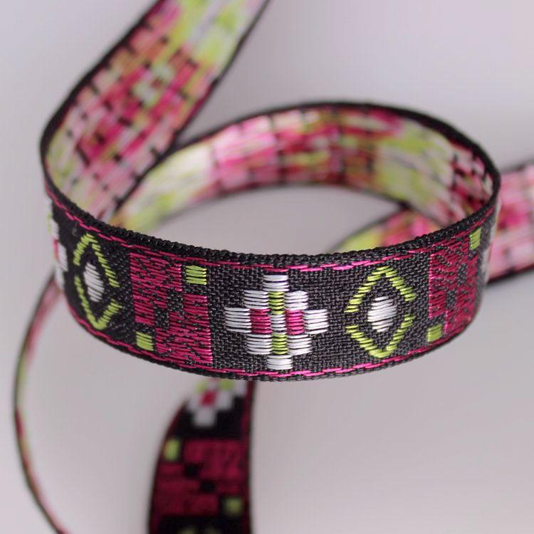 Borduurwerk Jacquard Singels Tape Lint Trim 1.5 Cm Kraag Tribal Boho Gypsy Diy Kledingstuk Accessoire Gift Decoratie Miao Boho Verlichten Van Warmte En Dorst.