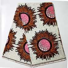 Африканский воск высокое качество ткань с принтом Анкары для