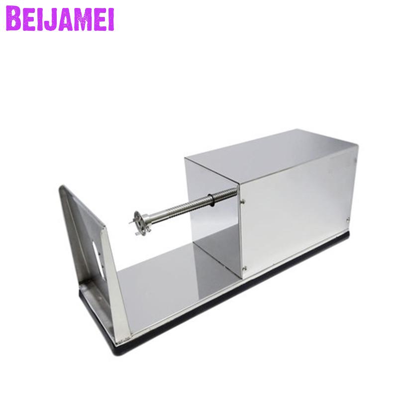 Beijamei High Quality Commercial Electric Twisted Potato Slicer Spiral French Fry Vegetable Cutter Cutting Machine Price