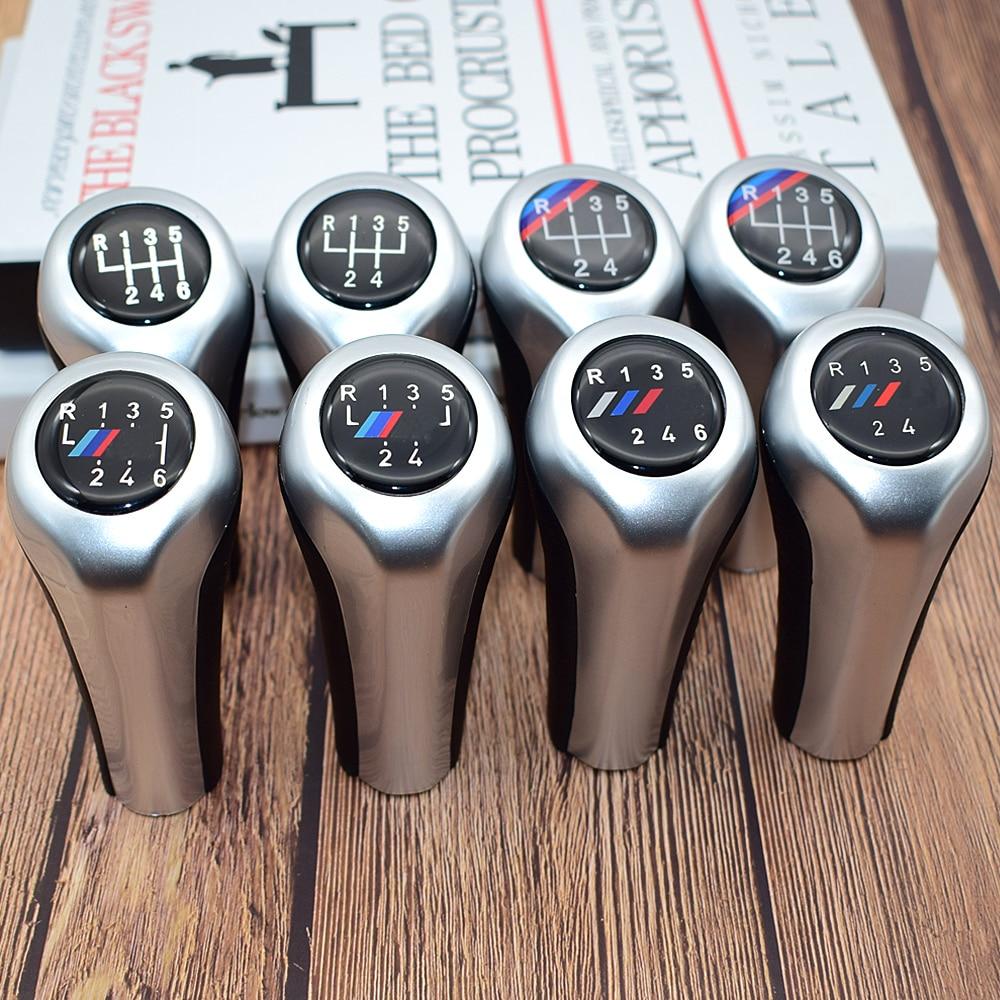 5 Speed 6 Speed Car Gear Shift Knob With M Logo For BMW 1 3 5 6 Series E30 E32 E34 E36 E38 E39 E46 E53 E60 E63 E83 E84 E90 E91 5 speed 6 speed mt car gear shift knob shifter lever stick for bmw z3 z4 x3 x5 e39 e46 e53 e60 e61 e63