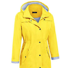 Long Raincoat Outdoor Overalls Waterproof Womens Raincoat Yellow Rain Coat Impermeable Mujer Para Lluvia Cover Rain Gear 3DYYJ01(China)
