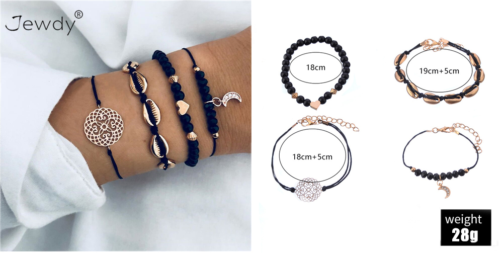 30 Styles Mix Turtle Heart Pearl Wave LOVE Crystal Marble Charm Bracelets for Women Boho Tassel Bracelet Jewelry Wholesale 11