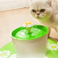 Dog Water Fountain Mute Cat Dog Water Bottle Electric Automatic Pet Water Dispenser Feeder Drinking Bowl