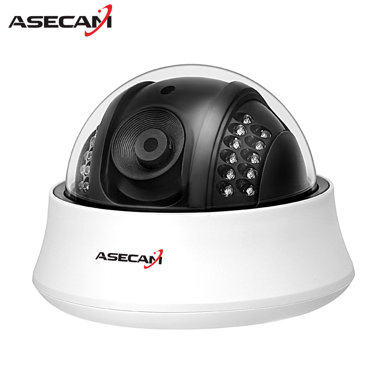 HD IP Camera 1080P indoor white Dome Hi3516C Surveillance Camera CCTV IR Night Vision Onvif WebCam Security ipcam zea afs011 600tvl hd cctv surveillance camera w 36 ir led white pal