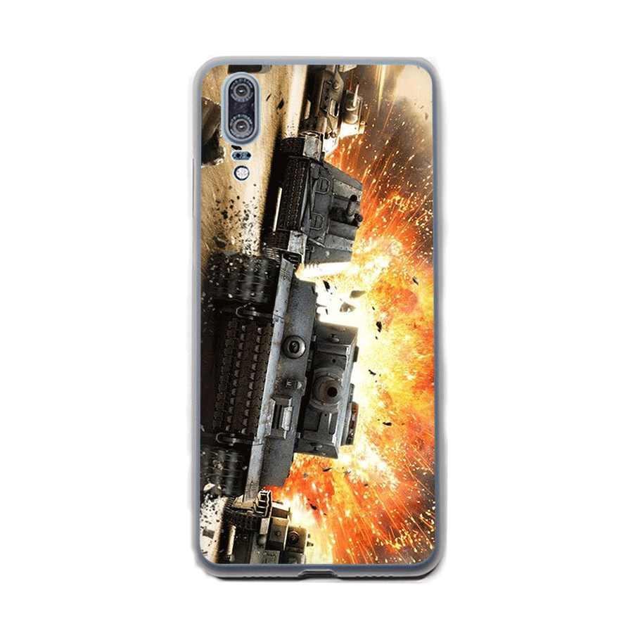 Desxz Thế Giới Của Xe Tăng Dành Cho Huawei Honor 6A 6C 7A Pro 7C 7X8X9 10 Lite lưu ý 10 8C Chơi Bao Vỏ