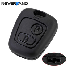 цена на NEVERLAND 2 Buttons Remote Key Flip Fob Car Key Case Shell Without Blade For Peugeot Partner Expert Boxer SX9