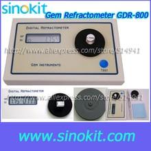 Профессиональный RI Тесты диапазон от 1,30 до 2.99RI Gem Цифровой рефрактометр-GDR-800