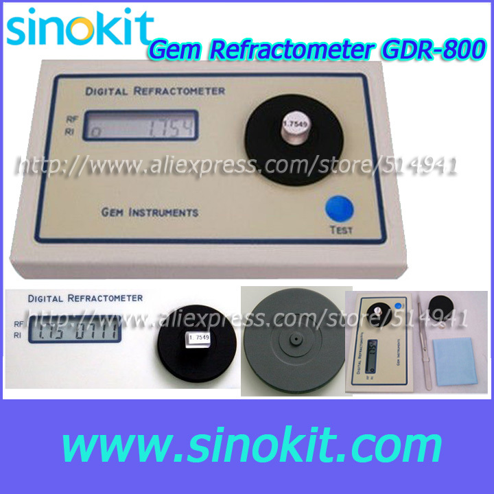 Professional RI Test Range 1.30 to 2.99RI Gem Digital Refractometer - GDR-800 ...