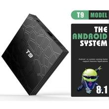 T9 TV Box Android 8.1 4GB 32GB 64GB Smart prefix Rockchip RK3328 1080P H.265 4K GooglePlay media player