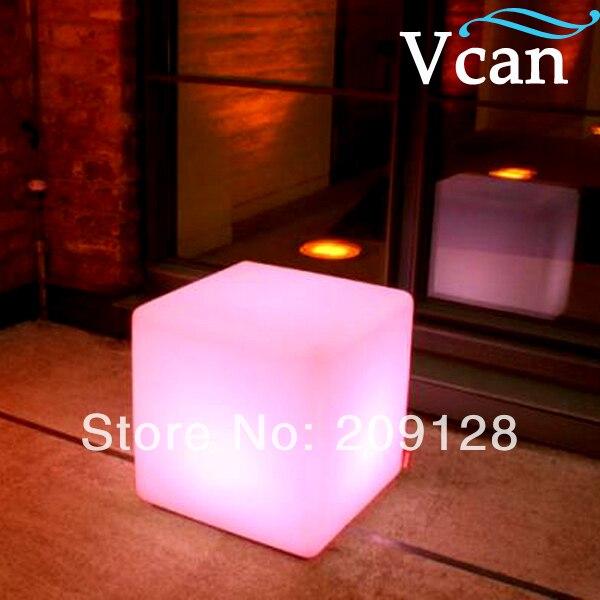 Rgb Remote Control Led Cube Light  20cm 30cm 40cm VC-A400