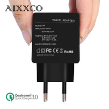 AIXXCO Quick Charge 3.0 (Quick Charge 2.0 Compatible)18W USB Charger Smart Fast Mobile Phone Charger QC3.0 for Samsung Xiaomi