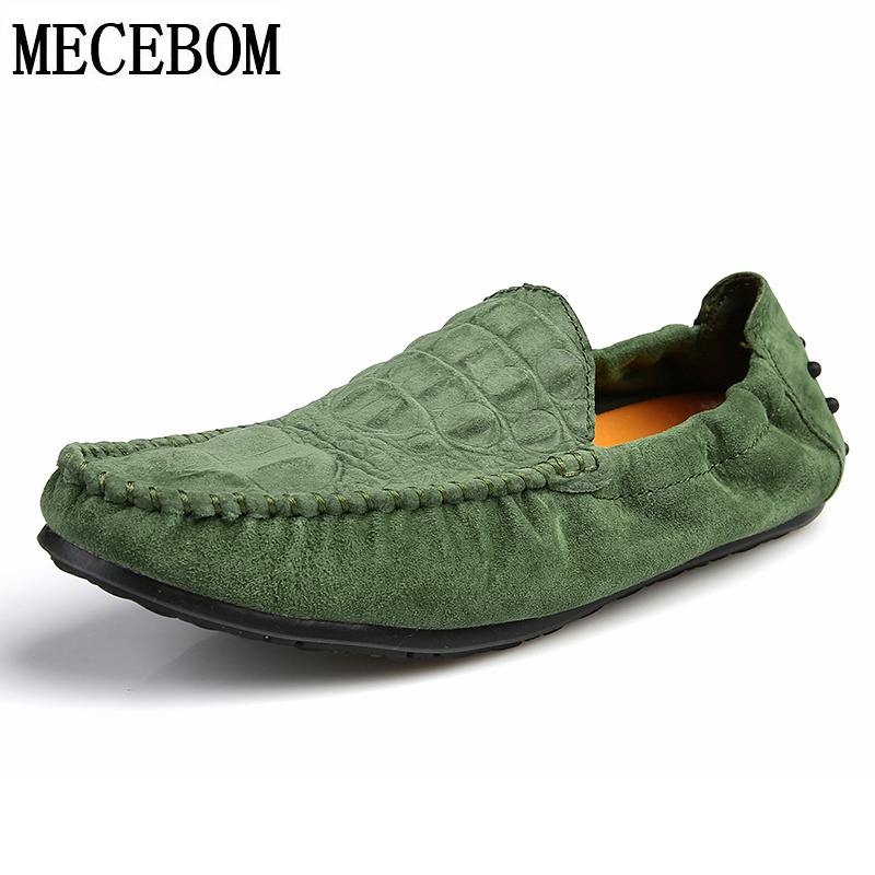 Men's loafers brand split leather casual shoes breathable slip-on flats men boat shoes footwaer zapatos size 39-44 875M 2017 brand new spring men fashion loafers shoes slip on flats genuine leather shoes young men breathable casual shoes wa 32