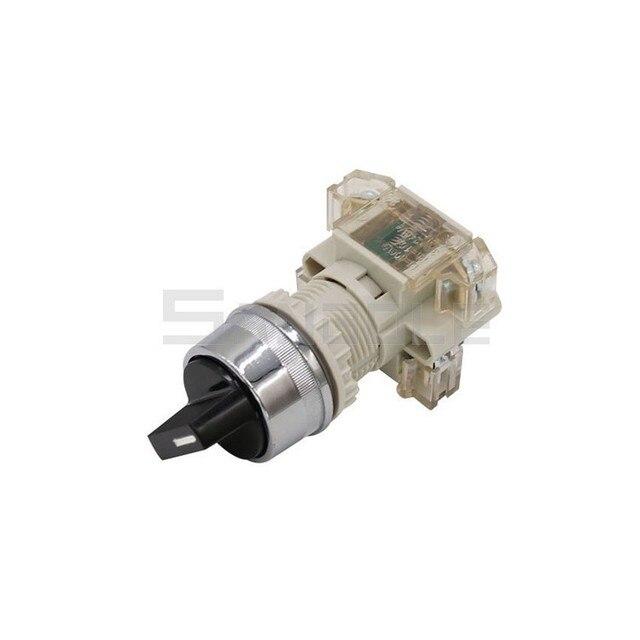 Interruptor de bloqueo automático T2SSR/2 interruptor de elección de dos posiciones 1 Apertura de cierre 22MM de plástico