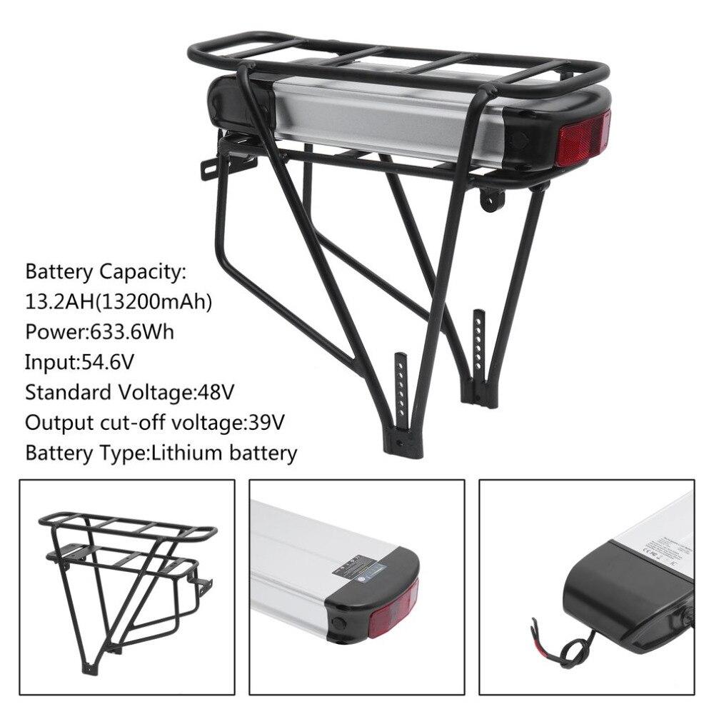 48 v 13.2AH 633.6Wh Pratique Batterie Au Lithium Li-ion Batterie S015-2 Remplacement Pour Vélo Électrique E-bike Vélos UE Plug