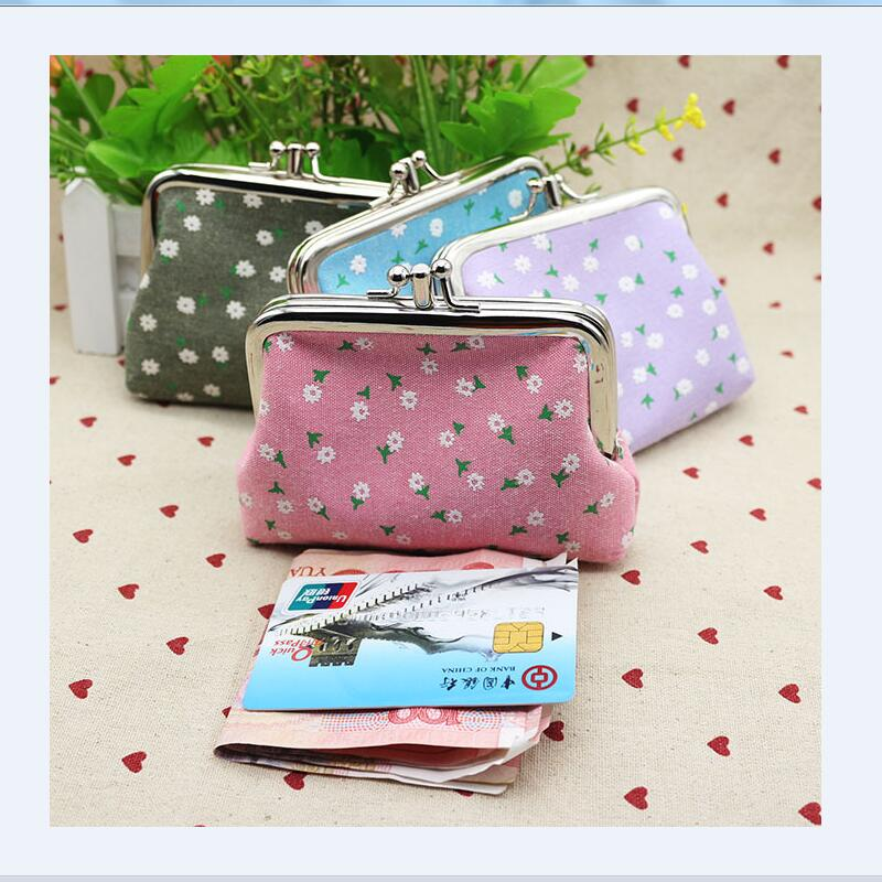New Small Wallet Girls Change Pocket Pouch Keys Bag Metal Bar Opening Mini Coin Bags For Women Girls Coin Change Purse Bag new brand mini cute coin purses cheap casual pu leather purse for coins children wallet girls small pouch women bags cb0033