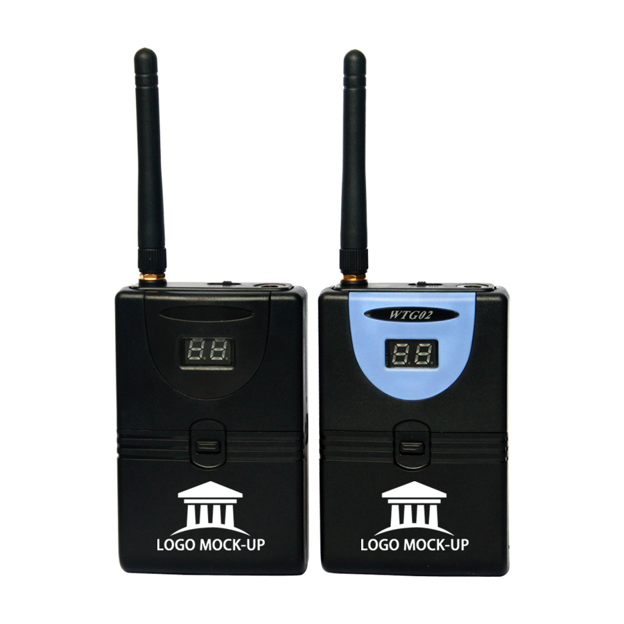 TP-Wireless 2,4 GHz Digital Wireless Tour Guide System - Tragbares Audio und Video - Foto 4