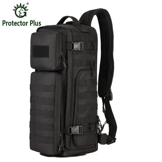 Men Chest Sling Back pack Mens Bags One Single Shoulder Man Large Travel Military Back packs Molle Bags Outdoors Rucksack