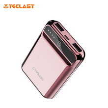 Original Teclast A10 Mini Dazzling Colorful Power Bank 10000mAh Ultra-thin Battery Bank With Dual USB 2.1A Quick Charging Output
