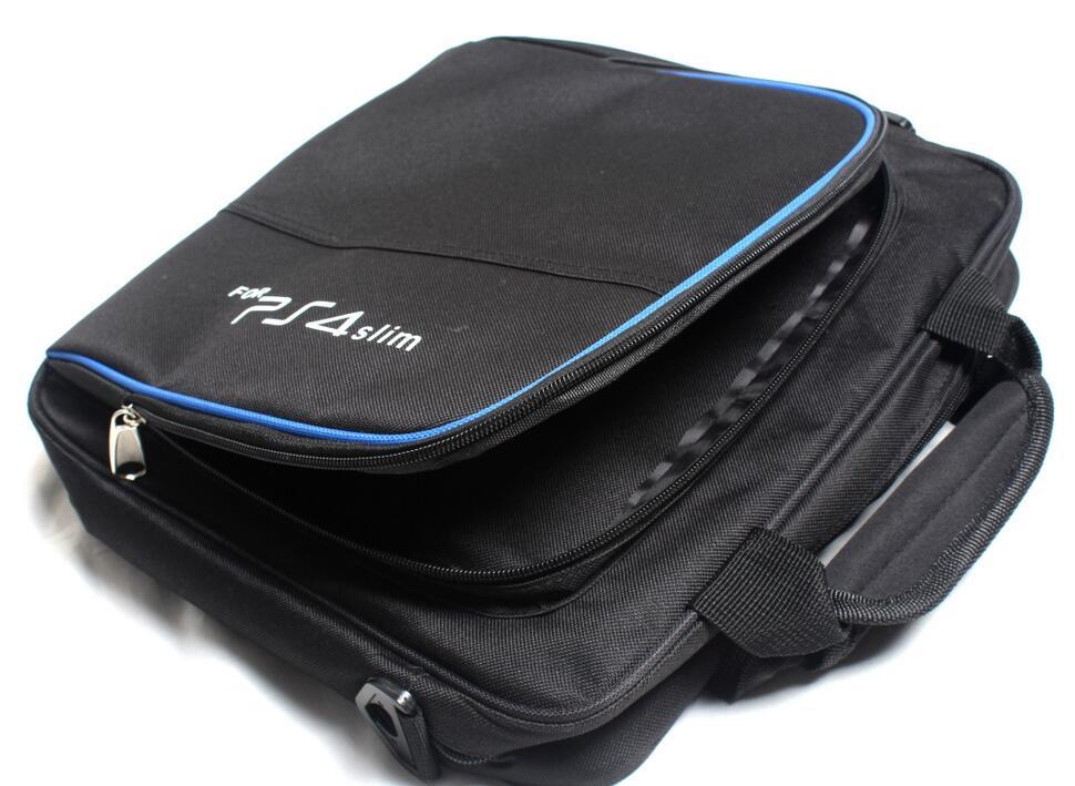 Купить с кэшбэком 2017 PS4 Slim carry bag storage travel protective Case Handbag Shoulder bag for ps4 slim Playstation 4 slim Console Controllers