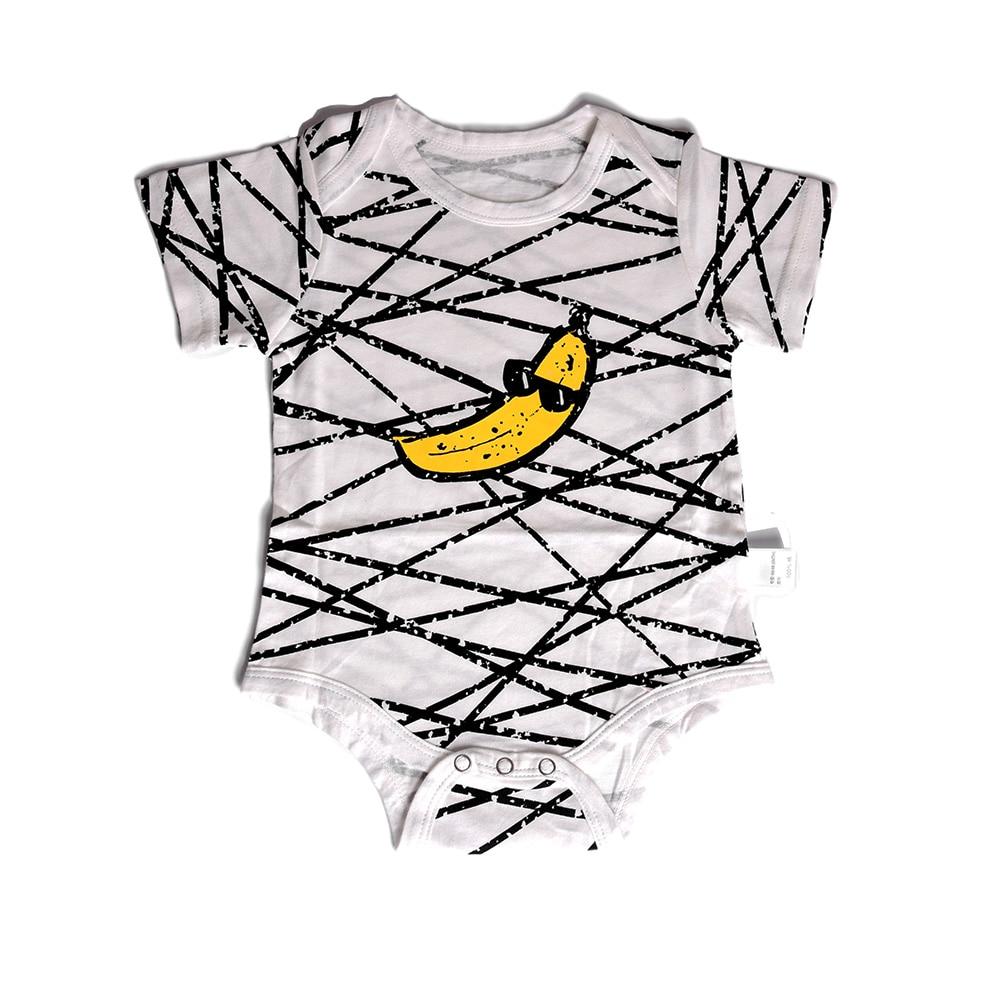 Monkey Banana Babys Boys /& Girls Short Sleeve Bodysuit Outfits And Tshirt