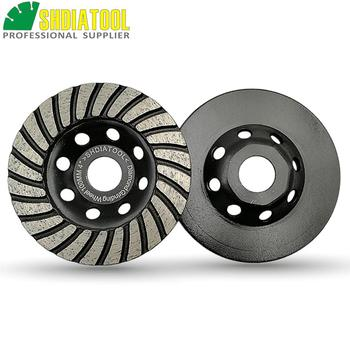 цена на SHDIATOOL 2PCS Diameter 4/100mm Diamond Spiral Turbo Grinding Cup Wheel Disc Concrete Masonry Grinding Discs